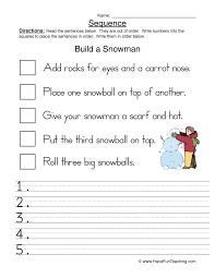sequence of events worksheets 2nd grade free worksheets library