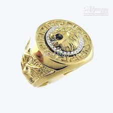 men big rings images 2018 2013 new style 18k yellow gold plated lion men big ring jpg