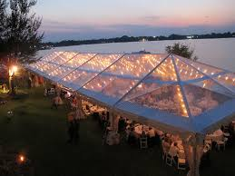 clear wedding tent clear top tents blue peak tents inc