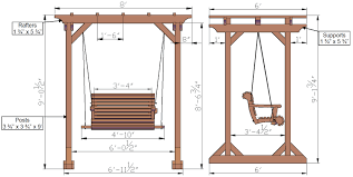 redwood pergola and swing combo foreverredwood com