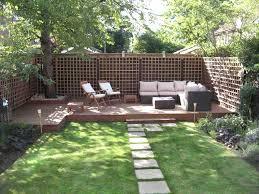 Townhouse Backyard Design Ideas Mid Century Patio Gardenabc Com