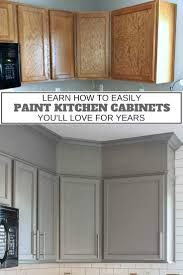 best diy sprayer for kitchen cabinets how to easily paint kitchen cabinets you will
