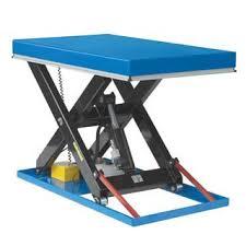 used electric lift table logistec single scissor lift table sitecraft australia