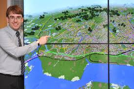 Map Of Britian You Can See Your House From Here On Insanely Detailed Minecraft