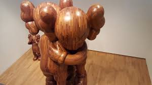 kaws wood sculpture picture of modern museum of fort