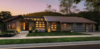 single story house single story contemporary house plan 69402am architectural
