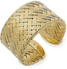sterling silver woven bracelet images Roberto coin the fifth season by 18k gold over sterling silver jpg