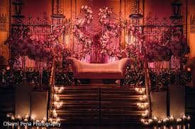 indian wedding decorators in ny floral decor in new york ny indian wedding by charmi pena