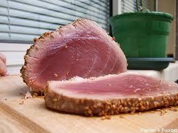 comment cuisiner le thon thon en croûte de sésame