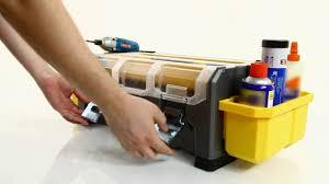 Keter Plastic Keter Pro Extendable Tool Box Youtube