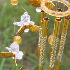antique cooper bells windchime outdoor wind chimes living