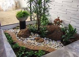 Front Landscaping Ideas Impressive Front Yard Landscaping Ideas With Stones Create Front