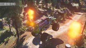 grave digger monster truck fabric monster jam crush it on ps4 official playstation store uk