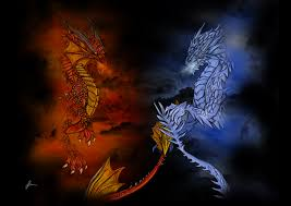 fire vs ice jpg ice dragon fire dragon and dragons