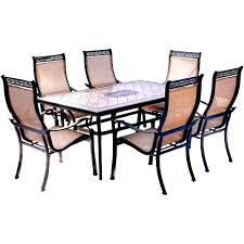 tile top patio table and chairs table top tile top patio table cast aluminum and chairs diy