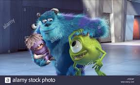 boo sulley u0026 mike monsters monsters 2001 stock photo