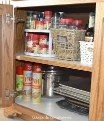 Kitchen Organizer Ideas by Kitchen Cabinets Organizers Twotier Cookware Organizer I Get So