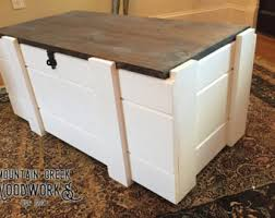 How To Build A Wood Toy Box by Toy Storage Etsy
