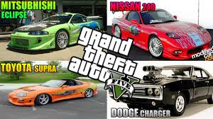 fast and furious 1 cars como se hacen 1 fast and furious 1 8 en gta v online youtube