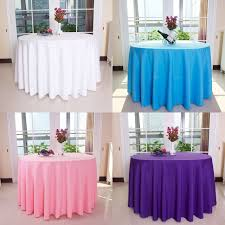themed table cloth new polyester multi color table cloth nappe de table wedding
