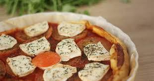 quiche cuisine az recette tarte feuilletée au chèvre tomates et oignon