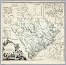 Map Of Colonies Map Of The Province Of South Carolina Cook James 1773
