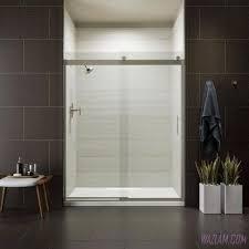 bathroom shower door and glass bifold doors stand up shower