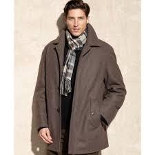 london fog alden wool car coat in brown for men lyst