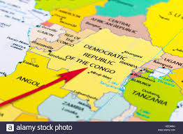 Map Of Tanzania Africa by Map Of Congo Stock Photos U0026 Map Of Congo Stock Images Alamy
