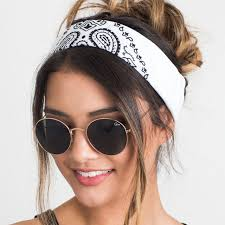 hair accessories for women new 2017 korea style hair accessories women linen bandana scarf