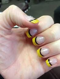 steeler nails pittsburgh pride nails pinterest nail nail