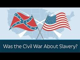 was the civil war about slavery