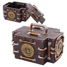 steampunk gauge trinket box steampunk home decor