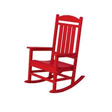 Rocking Chair Outdoor Furniture Safavieh Vernon Teak Brown Outdoor Patio Rocking Chair With Navy