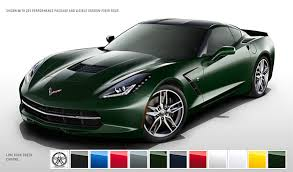 2014 corvette stingray s color configurator allows you to play