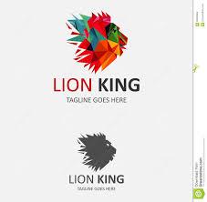 lion king template lion king logo vector illustration cartoondealer com 84950864
