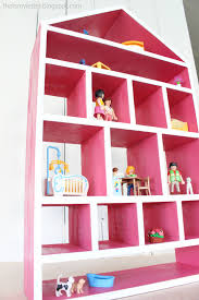 Free Diy Doll Furniture Plans by Ana White Dollhouse Wall Shelf Diy Projects