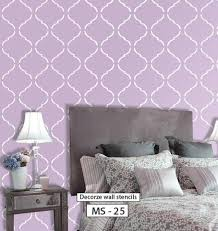 Decorative Wall Stencils Online Shopping India Shop Online For Wall Stencils Wall