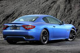 maserati blue gallery blue maserati granturismo sport on the road gtspirit