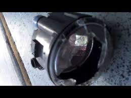 easy replacement fog light nissan rogue youtube