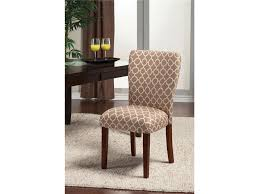 damask dining room chairs furniture chic parsons chairs for dining room furniture ideas