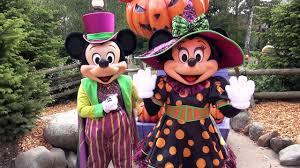 parks and rec halloween mickey and minnie halloween meet u0026 greet at disneyland paris