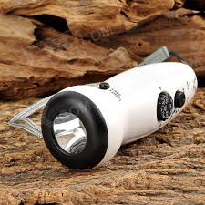 hand crank led light teknika dr 380 outdoor rechargeable hand crank led flashlight