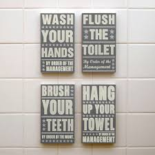 Bathroom Art Ideas For Walls Awesome Kids Bathroom Wall Decor Jeffsbakery Basement U0026 Mattress