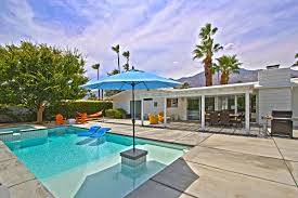 krisel designed updated mid century ranch in palm springs