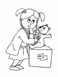 nurse coloring pages coloringsuite com