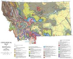 Map Montana Montana Earth Science Picture Of The Week