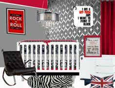 Rock N Roll Crib Bedding Custom Baby 4 Mixed Print Crib Bedding By Rockerbyebaby