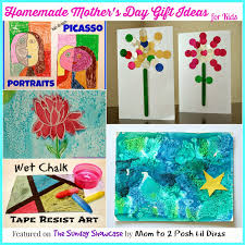 Homemade Gifts For Mom by Mom To 2 Posh Lil Divas Homemade Mother U0027s Day Gifts For Kids The
