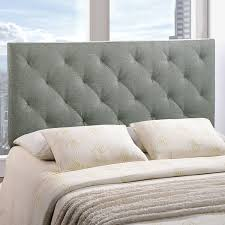 amazon com lexmod theodore queen linen tufted headboard